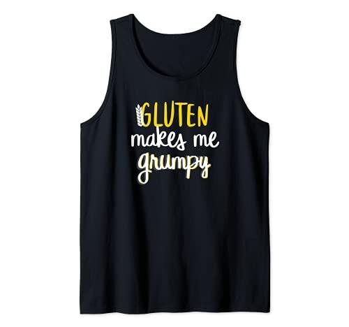 Celiachia Senza Glutine Grumpy Canotta