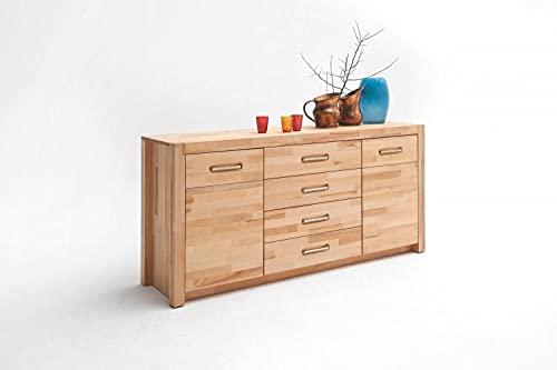 RASANTI Sideboard 2-TRG 4 Schubkästen FENJA von MCA Furniture/Kernbuche Massivholz