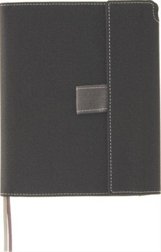 キングジム ノートカバー マグネットタイプ A6S 1871 黒