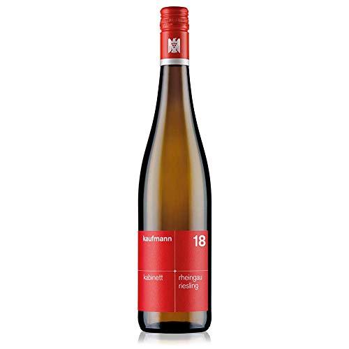 kaufmann Rheingau Riesling Kabinett Wein (1 x 0.75 l) feinherb 2018 - Weißwein Deutschland VDP. Gutswein bio-dynamisch