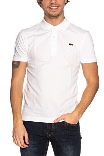 Lacoste Herren YH4801 00 Polo Sport, Blanc, XL