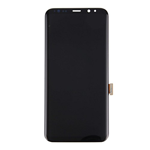 ELECTRONICS MobilePhone REPLACEMENT PART COU New LCD-scherm + Touch Panel for Galaxy S8 + / G955 / G955F / G955FD / G955U / G955A / G955P / G955T / G955V / G955R4 / G955W / G9550 (zwart)