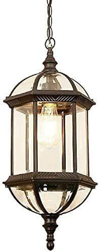 Dkdnjsk Outdoor sold out Victorian Chandelier High OFFicial store Light Glass Ceiling Pe
