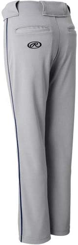 Rawlings Youth Belted 31 Cloth Fit Piped Baseball Pant