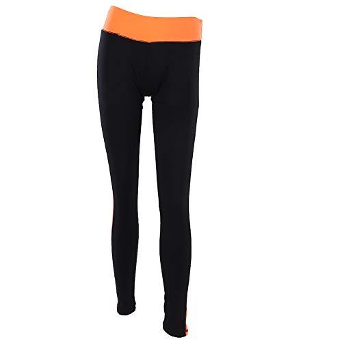 Pantalones de la Yoga, artículos del hogar de los Pantalones de la Yoga de los Deportes Suaves de Las Polainas de la Aptitud del Gimnasio de los Deportes de Las Mujeres de la Moda(M)