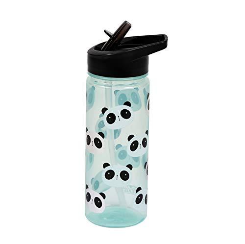 Polar Gear 1529 1743P4 Childrens Panda Drinks Bottle, polypropylene plastic, Black and White, 500ml