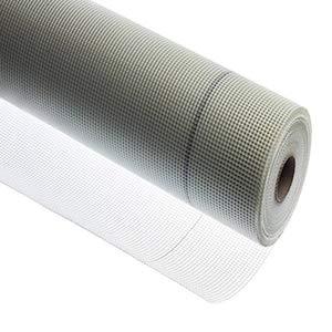 Eye Effect Armierungsgewebe, 1 x 50m Glasfasergewebe, Putzgewebe 110g/m², Rolle, weiß