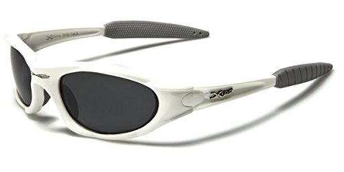 X-loop Polarized Mens Action Sports Fishing Sunglasses - Several Colors (White)