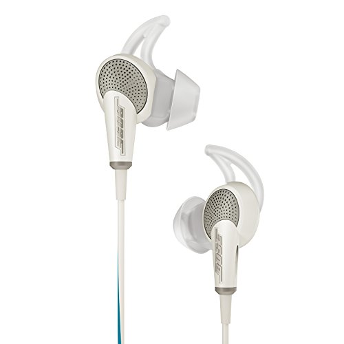 Bose QuietComfort 20 Acoustic Noise Cancelling Headphones, Apple Devices, White