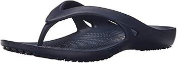 Crocs Kadee II Flip Flops | Sandals for Women Navy 9