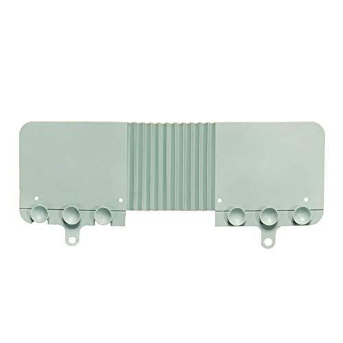 Amusingtao Protector contra salpicaduras para fregadero – Lavavajillas – Protector contra salpicaduras de agua para cocina, baño e isla – TPR – 16.73 x 6.69 x 0.39 pulgadas
