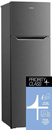 Sauber - Frigorífico Dos Puertas SF166I - Eficiencia energética: A+ - 166x55 cm - ENTREGA EN DOMICILIO