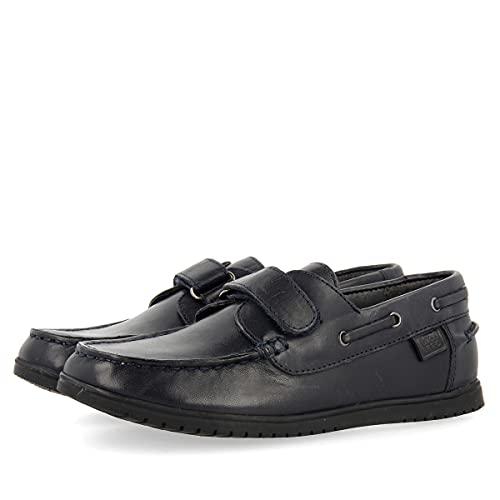 Zapatos Colegiales Azul Marino para niño LOKSA
