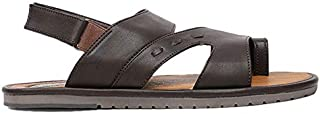 BATA Men's Glance Sd Outdoor Sandals