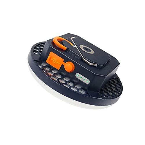 EElabper Carpa De Luz Led, Luces Que Acampan Magnética Recargable USB, Conducido Camping Linterna De Luz Camping Aire Libre Senderismo Tiendas De Emergencia 60led Bombillas Style02