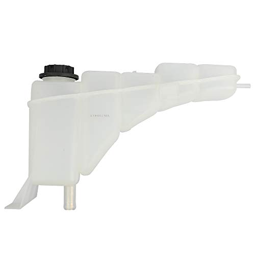 BRTEC Coolant Reservoir with Cap for 1999 2000 2001 2002 2003 2004 for ford F250 Super Duty & F350 F450 Super Duty; 2000 2001 2002 2003 2004 2005 for ford Excursion Coolant Reservoir