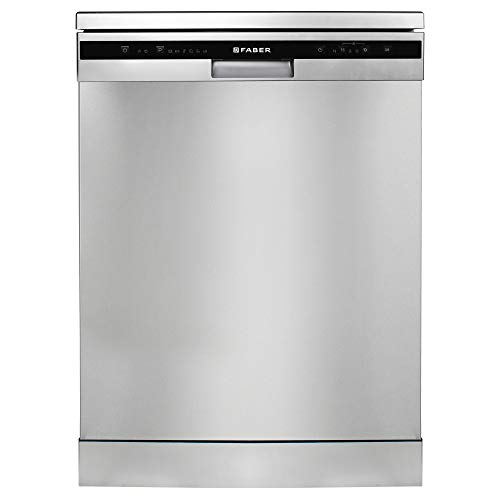 Faber 12 Place Setting Dishwasher (FFSD 6PR 12S, Inox Finish, Energy Efficient, Intensive Rapid Wash)