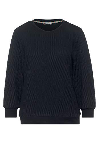 Street One Damen 315929 T-Shirt, Dark Blue, 40