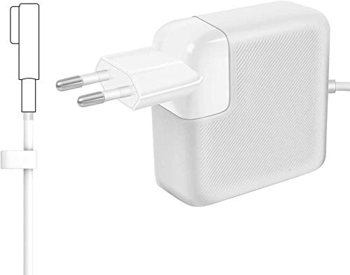 "AndMore Cargador Compatible con MacBook Pro, Cargador MacBook 60W 1 Forma de L Adaptador de Corriente (para MacBooks Macbook Pro 11"" & 13\"" Pulgadas, Antes de Mediados de 2012 2011 2010 2009)"