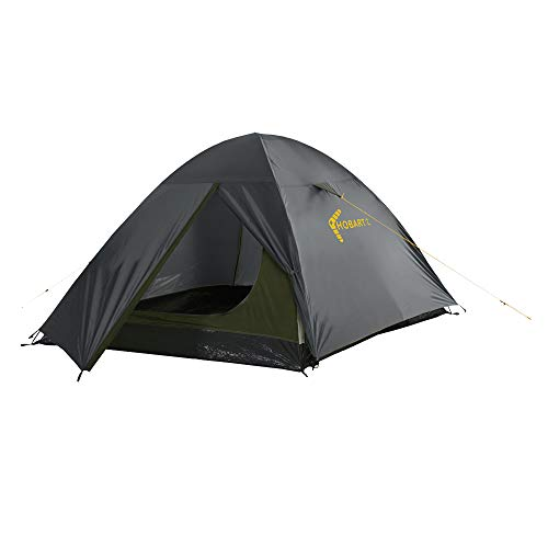 High Peak Dome Tent with Weatherproof Entrance Camping Tent for 2 People Portable Tent Waterproof 2000 mm Easy and Quick Assembly