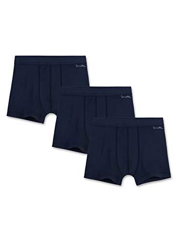 Sanetta Jungen 3Er Pack, 333577 Shorts, Blau (Neptun 50226), 164