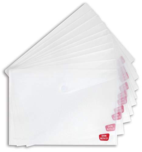 Sicht- und Schutzhülle für Kamishibai-Bildkarten (Kamishibai-Hülle), DIN A3, mit Klettverschluss, transparent, Vorteilspack mit 10 Exemplaren. ... (Zubehör für das Erzähltheater Kamishibai)
