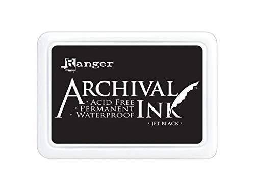Ranger Archival Jumbo Inkpad #3, Jet Black