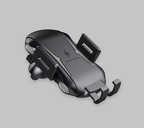 LRANCS draadloze autoladerstandaard met automatische klemming, snellading, geventileerde autohouder, 10 W compatibel met Samsung S10 / S10 Plus/Note 9 / S9 / S8, voor iPhone XS Max/XR/X / 8