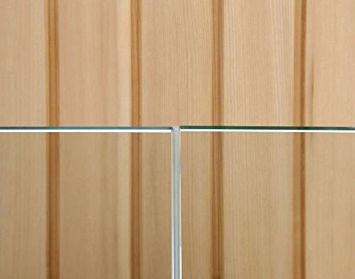 eliga Glas-an-Glas-Stoßdichtung transluzent