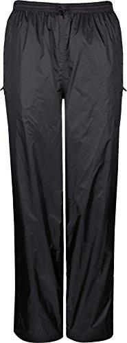 Viking Women's Windigo Waterproof Rain Pant, Black, Large