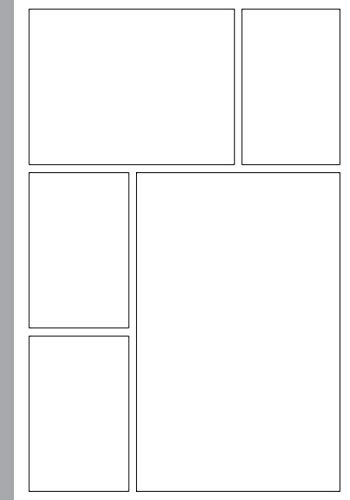 Blank Comic Book: Template 3-9 Panel Layouts | Draw Your Own Comics: Empty Comic Strip Book for Creating and Drawing Your Own Comic Strip or Manga Books | Great Comic Book Creator for Kids