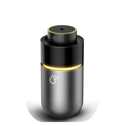 Xinmeimaoyi Mini difusor de niebla humidificador, taza ultrasónica portátil para peque?os electrodomésticos, aceite esencial, 7 luces, purificador silencioso para el dormitorio del coche, yoga