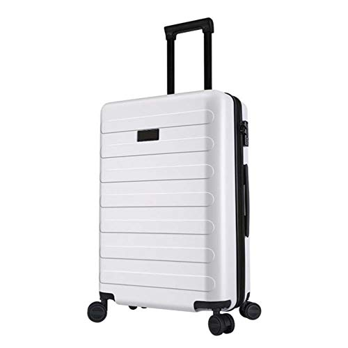 Why Should You Buy AQWWHY 20inch/24inch Carry On Luggage Lightweight ABS 4 Wheel Spinner Suitcase Ha...