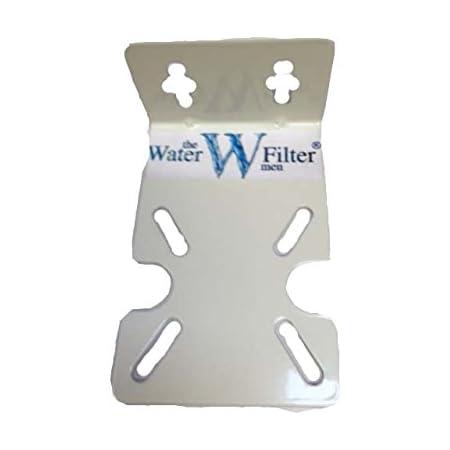 Logement pour filtre à eau en acier Support de fixation universel pour tous les 25,4cm Boîtier pour filtre standard gousses