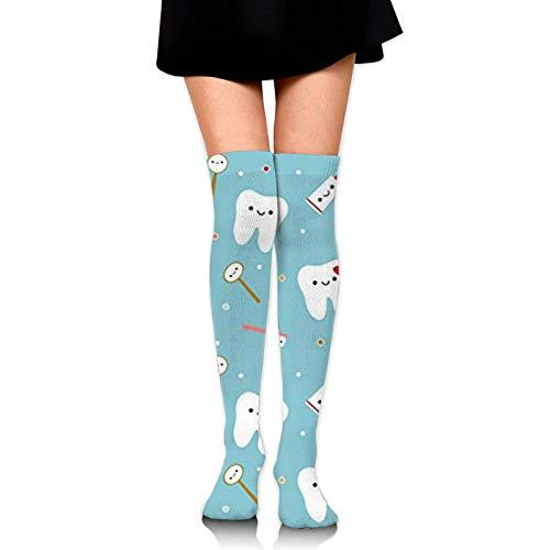 Calcetines largos deportivos para hombres y mujeres de pantorrilla ancha medias de compresión
