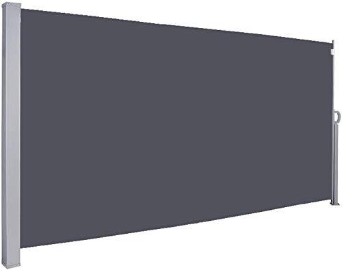 Freestyle Shade Toldo Lateral de 180 x 300 cm, Antracita, Resistencia al desgarro TÜV, Pantalla de privacidad Lateral, protección UV Probada para balcón, terraza, toldo Extensible 0715