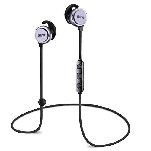 (Renewed) Mivi Thunder Beats Wireless Bluetooth Earphones - Gun Metal