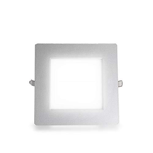 Ultraslim blanc froid LED panneau rectangulaire encastré 21W 1501LM (S) Ø 203 mm