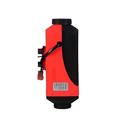 LZHYA Calentador De Estacionamiento Diesel, LCD Remoto, 12 V 5 kW, Consumo de Combustible 0,1-0,3 l/Hora, Calentador De Aire Diésel, Calefacción Estática Furgoneta Diesel Calentador Coche (Red)