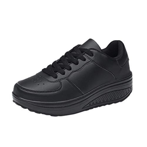 LILICAT_Schuhe Damen Fußballschuhe 4 UK Schwarz