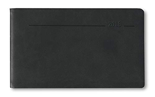 Timer TO GO 2016 - Tucson schwarz - Bürokalender / Taschenkalender (15,3 x 8,7) - 1 Woche 2 Seiten