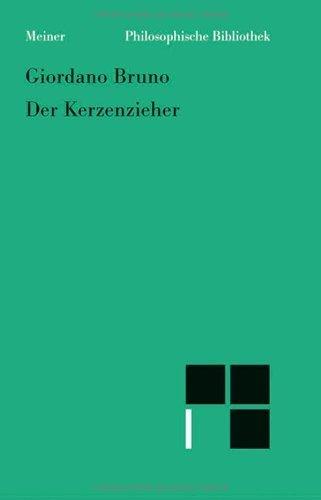 Der Kerzenzieher von Sergius Kodera (Herausgeber), Giordano Bruno (7. September 2006) Broschiert