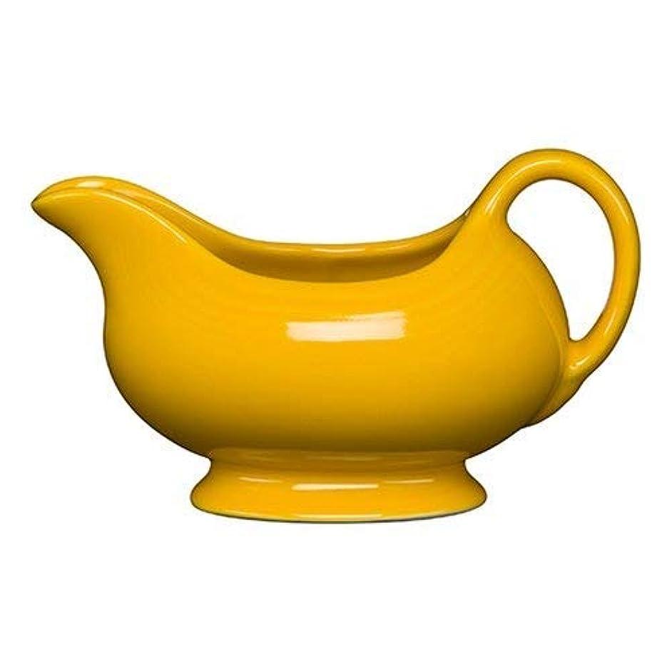 Homer Laughlin 486-342 18-1/2 oz Sauce Boat, Daffodil