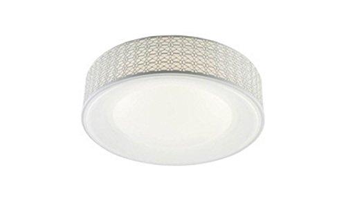 Homemania plafondlamp, kleur wit, metaal, acryl, woonkamer, keuken, slaapkamer, kantoor, Ø 40 cm