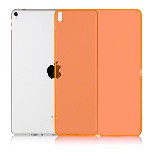 Hülle für Apple iPad 2017/2018 9.7 Zoll Schutzhülle Soft Tasche Ultra Dünn Durchsichtig + Touch Pen Orange