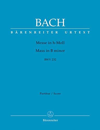 Messe in h-Moll BWV 232: Kartonierte Dirigierpartitur
