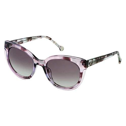 Carolina Herrera SHE789520AD6 Gafas, SHINY LILAC HAVANA, 52/21/135 para Mujer