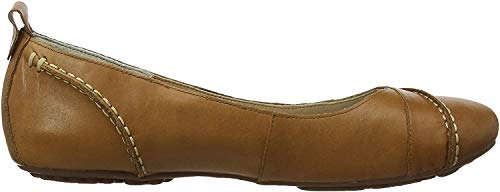 Hush Puppies Janessa H24531000, Damen Ballerinas,Braun (Tan Leather),39