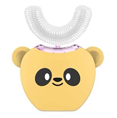 Cepillo de dientes eléctrico ultrasónico para niños, cabezal de silicona de 360...