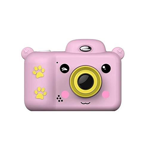 XinQing-niños cámara Cámara Impermeable Infantil de 2,4 Pulgadas Full HD Mini cámara, Frontal y Trasera de Doble Lentes, la cámara de vídeo DV, Juguetes for niños, Regalos for los niños